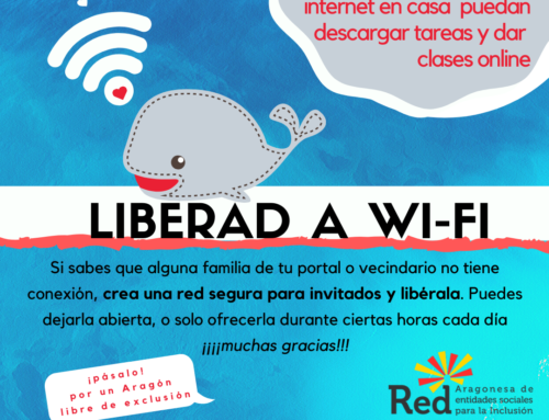 Abre tu wi-fi de forma segura para familias sin internet