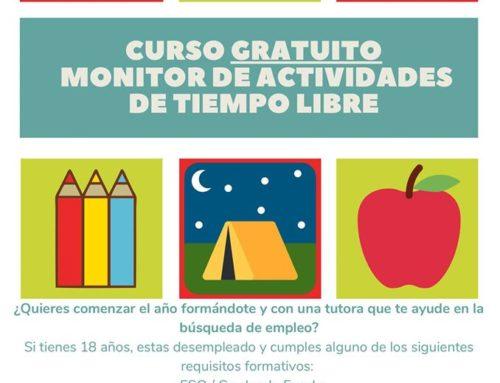 Monitor/a tiempo libre, curso gratuito con Cruz Roja Zaragoza