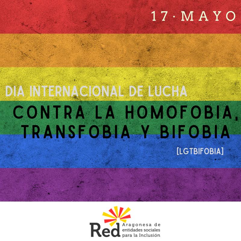 Día internacional de lucha contra la homofobia, transfobia y bifobia [LGTBIfobia]