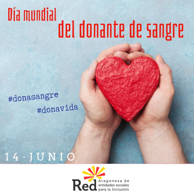 Día mundial de las personas donantes de sangre