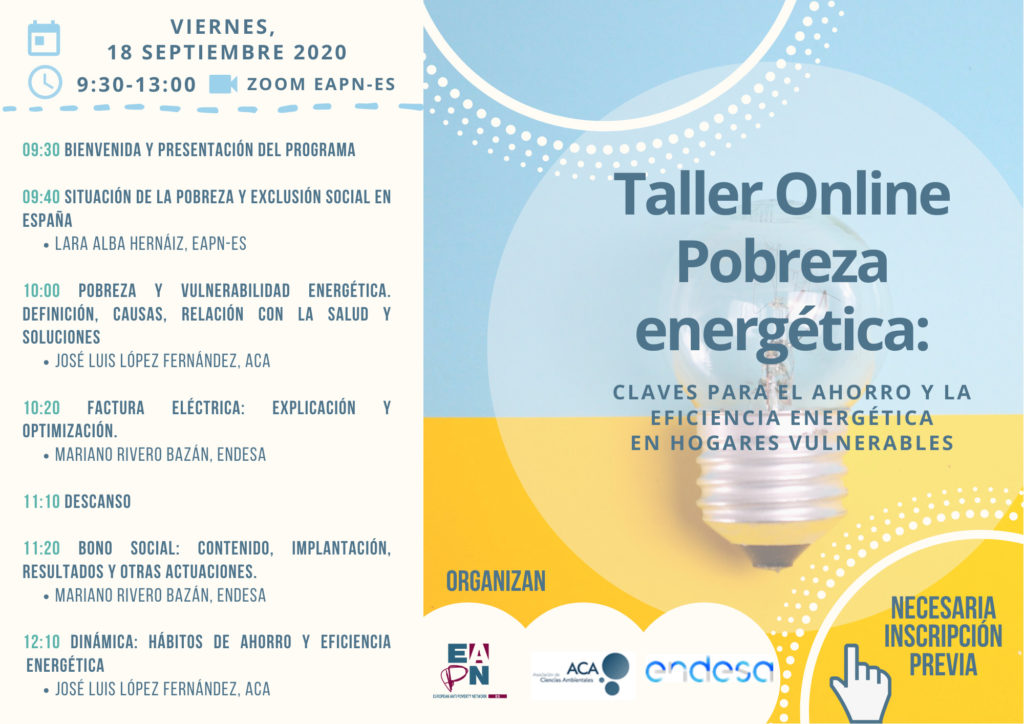 Taller online Pobreza Energética