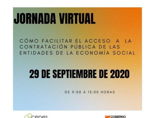 Jornada CEPES: Acceso contratación pública a entidades de Economía Social