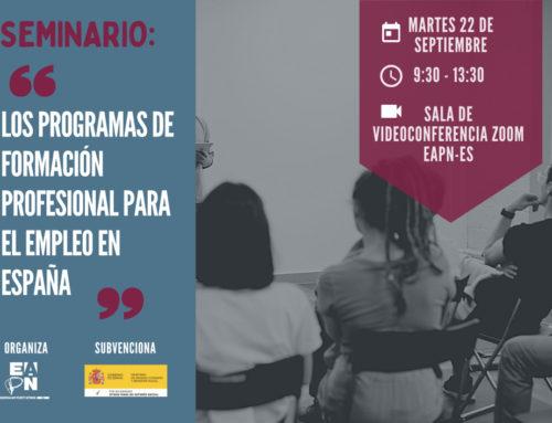 Seminario EAPN «Los Programas de Formación Profesional para el Empleo en España»