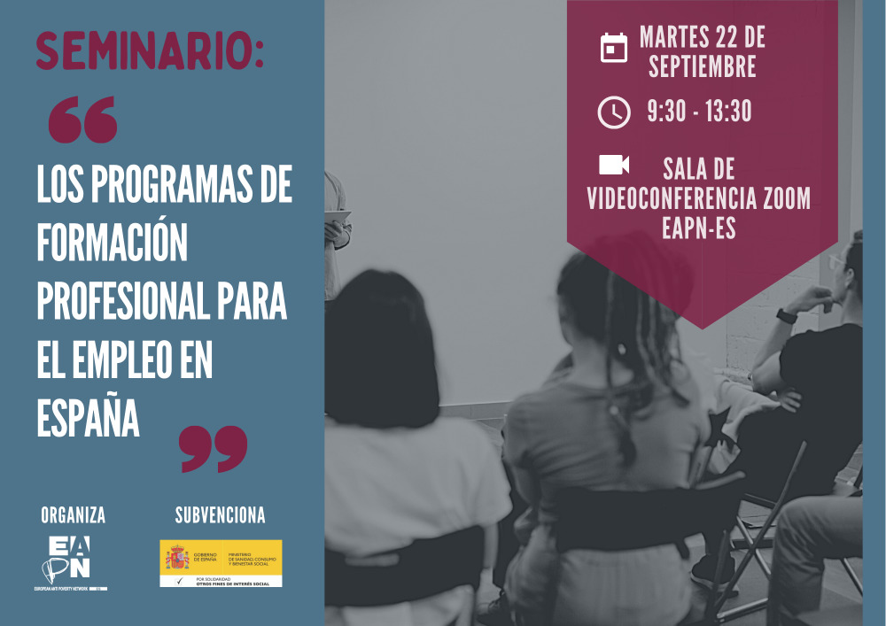 """Seminario EAPN """"Los Programas de Formación Profesional para el Empleo en España"""""""