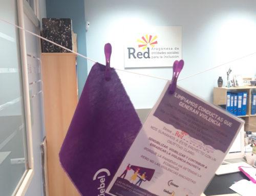 La Red se adhiere a la campaña promovida por Tiebel contra la violencia de género