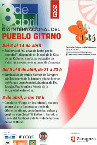 Día internacional del Pueblo Gitano · concierto online