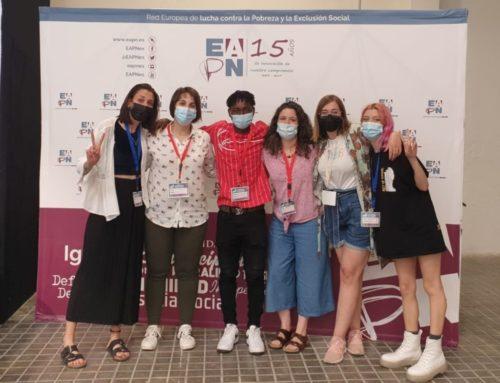 Juventud aragonesa en el Encuentro estatal de Participación celebrado en Madrid