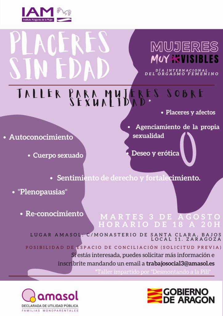 Taller de sexualidad para mujeres · AMASOL