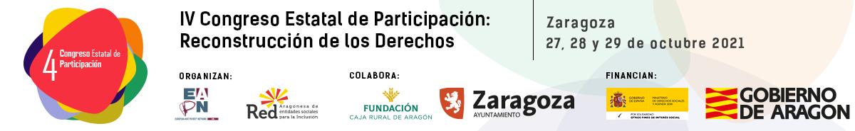 IV CONGRESO ESTATAL DE PARTICIPACIÓN: RECONSTRUCCIÓN DE LOS DERECHOS